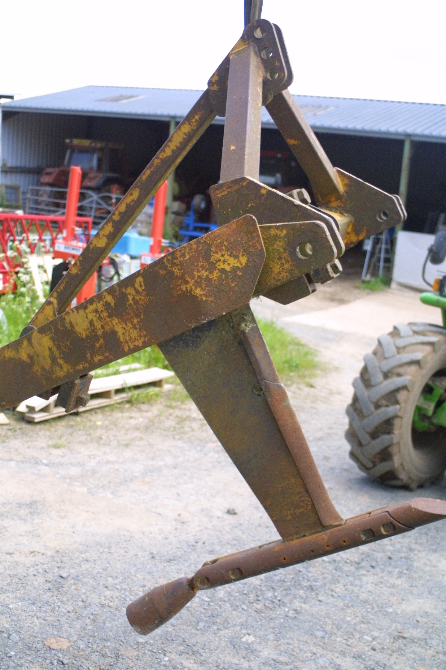 Bomford Classic Single-Leg Mole Plough c/w Expander