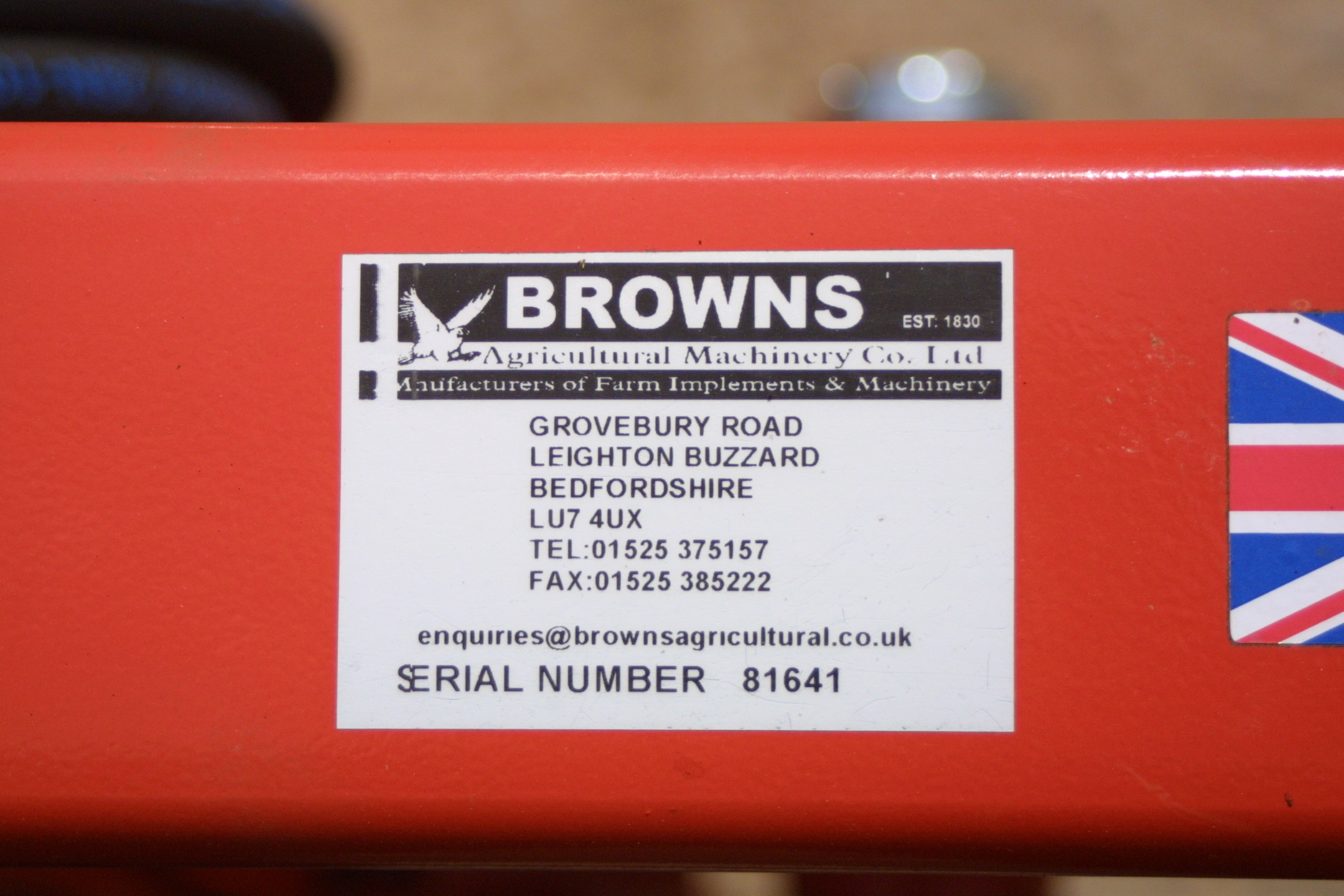 For Sale - Browns Round Bale Handler