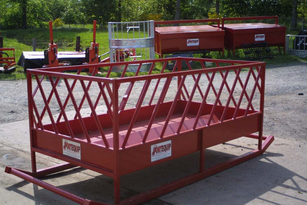 For Sale - New Portequip Sheep Feeder on Skids 8ft x 4ft 6ins