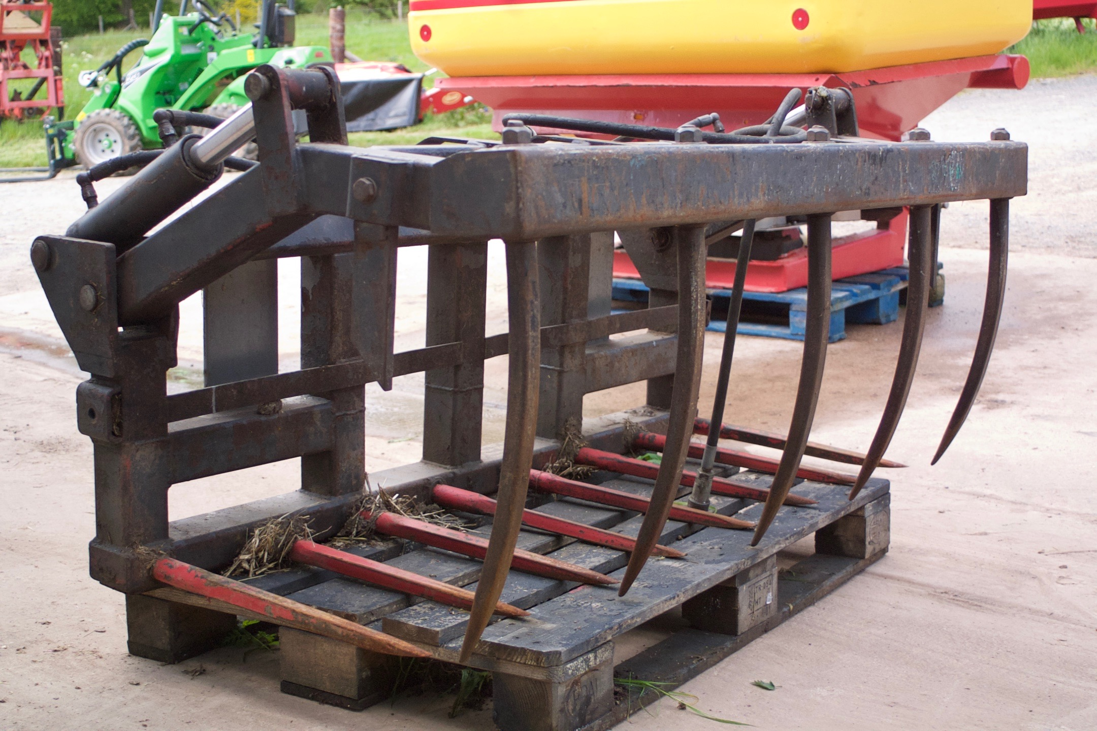 For Sale Quicke CT60 Manure Grab
