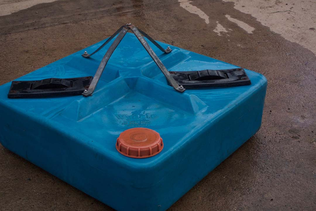 For Sale Wyedale molasses liquid feeder Two wheel 250 litre capacity
